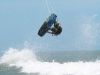 Kitesurf Jump - Back loop con Grab