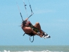 Kitesurf Jump - Front roll con Grab